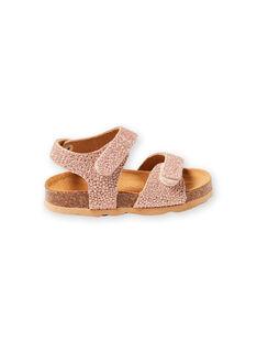 Pink gold SANDAL LBFNUGOLD / 21KK3757D0EK009