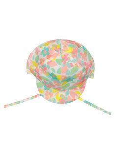 Baby girls' floral cap FYICHA / 19SI09K1CHA099