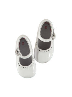 Baby girls' leather Mary-Janes FBFBABPERF1 / 19SK37B2D13000