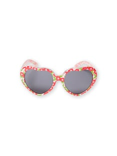 Pink and green sunglasses child girl LYAMERLUN1 / 21SI01D1LUN309