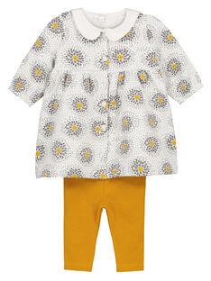 Unisex babies' smock and leggings set GOU1ENS6 / 19WF0511ENS001
