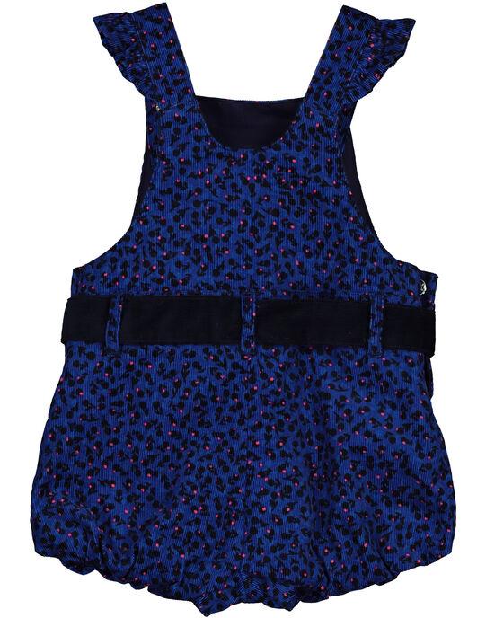 Blue Short Overalls GIBLESAC / 19WG0991SACC226