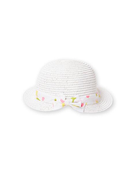 White hat baby girl LYIBALCHA1 / 21SI09O2CHA000
