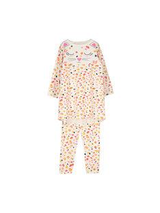Girl's nightdress and leggings FEFACHUEXO / 19SH1141CHN001