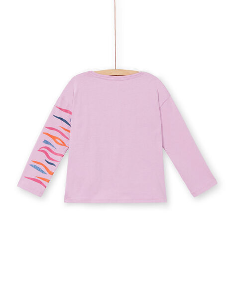 Parma T-shirt with zebra print in cotton LABLETEE1 / 21S901J2TML320