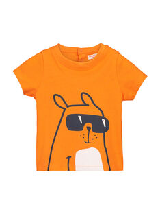 Baby boys' fancy T-shirt FUJOTI3 / 19SG1033TMC405