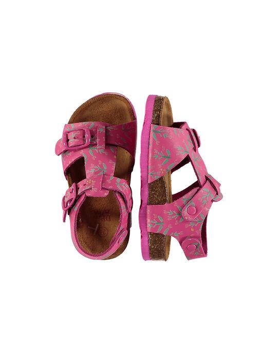 Fushia Sandal FBFNUPRINT / 19SK37D4D0E304