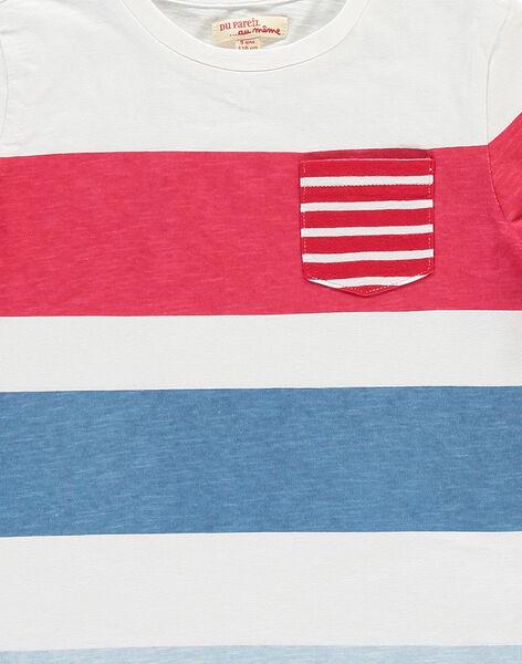 Boys' short-sleeved T-shirt FOTOTI1 / 19S902L1TMC000