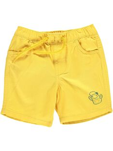 Baby boys' yellow shorts CUJOBER7 / 18SG10S1BER106