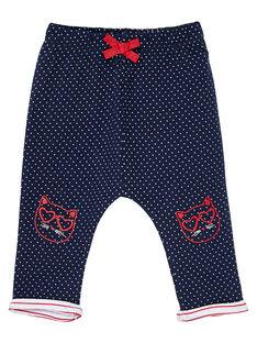 Navy pants JIGRAPAN / 20SG09E1PAN070