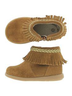 Light brown Boots DBFBOOTIND / 18WK37T2D0D804