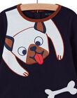 Baby boy dog print pajama set MEGAPYJDOG / 21WH1481PYJC205