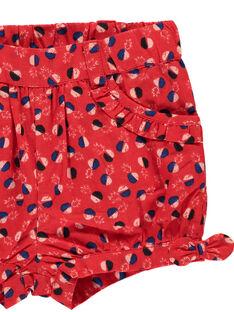 Baby girls' printed shorts FITOSHO2 / 19SG09L2SHO330