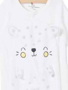 White leopard velvet sleep suit devoured velvet mixed birth LOU1GRE5 / 21SF05H2GRE000