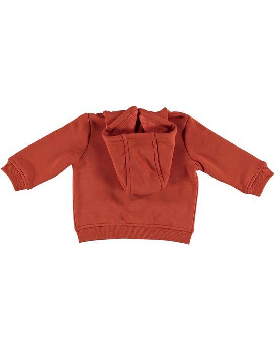 Dark orange Waistcoat GUBRUGIL2 / 19WG10K2GIL408