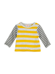 Baby boys' reversible T-shirt FULITEE3 / 19SG1023TML099
