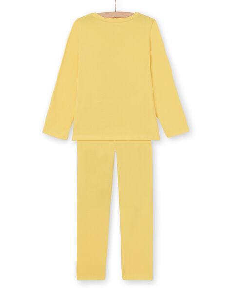 Light yellow PAJAMAS LEFAPYJBIR / 21SH11S1PYGB116