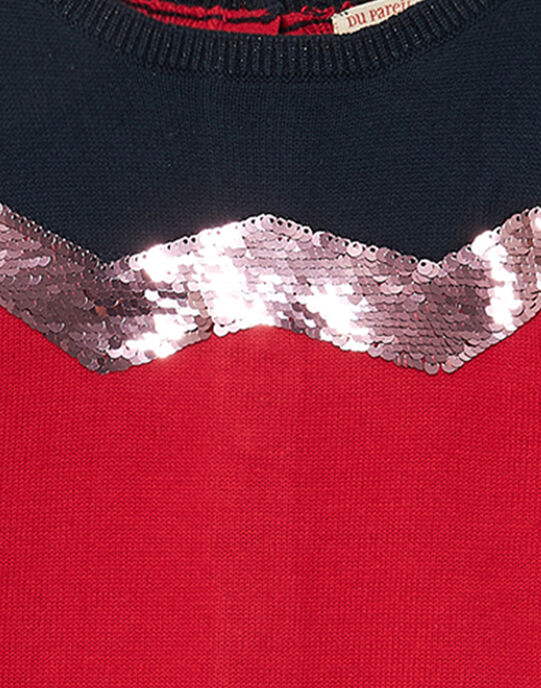 Red Pullover JAGRAPULL2 / 20S901E1PUL050