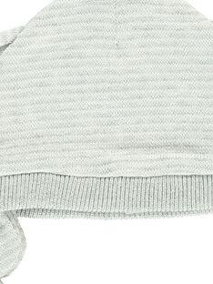 Unisex babies' newborn ear flap hat DOU1BON2 / 18WF4211BON099