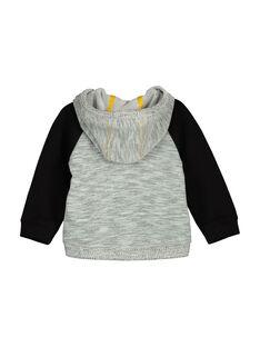 Baby boys' zipped hooded jacket FULIHOJOG / 19SG1022GIL099