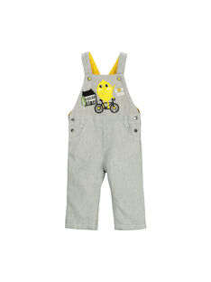 Baby boys' striped dungarees FULISAL / 19SG1021SAL099