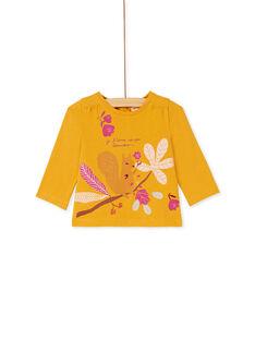 Yellow T-SHIRT KIRETEE2 / 20WG09G1TML107