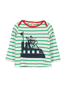 Baby boys' long-sleeved T-shirt FUCOTEE3 / 19SG1083TML099
