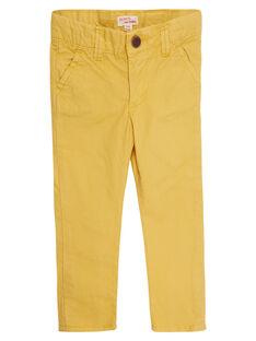 Light yellow Pants JOJOPACHI4 / 20S90243D2BB116