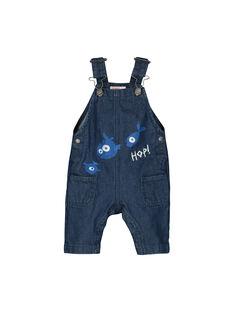 Baby boys' denim dungarees FUNESAL / 19SG10B1SAL704