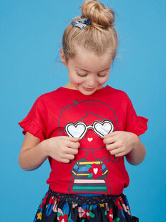 Red T-shirt JAGRATI2 / 20S901E2TMC050