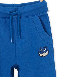 Blue jogging jogging shoes for boys LOBLEJOG / 21S902J1JGB702