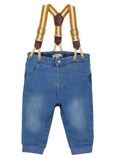 Baby boys' jeans GUJAUJEAN / 19WG10H1JEAP274