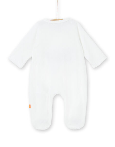 Sleep suit white birth LOU1GRE4 / 21SF05H1GRE000