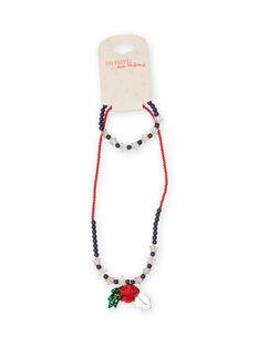 Christmas beads necklace child girl MYANOSET / 21WI01T2CLI961