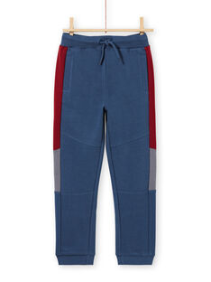 Boy's navy blue and red jogging suit MOPAJOG / 21W902H1JGB219