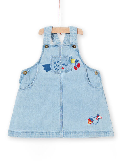 Details about  /New Gymboree 12-18m Girls Daisy Flower Chambray Overalls Pants Denim Blue Jeans