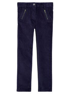 Navy pants GATRIPANT / 19W901J1PAN070
