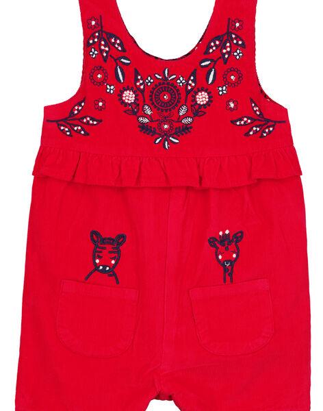 Red Short Overalls GITRISAL1 / 19WG09J1SACF512