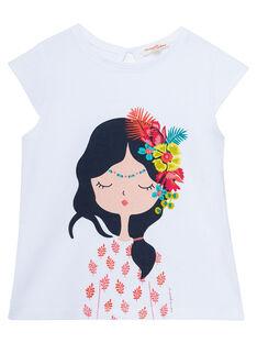 White T-shirt JABOTI1 / 20S901H1TMC000
