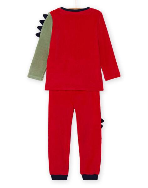 Boy's pyjama set with dragon T-shirt and pants MEGOPYJDRA / 21WH1287PYJF504