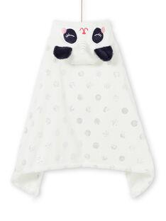 Child cape girl in soft boa panda unicorn LEFACAPAND / 21SH1111CPE001