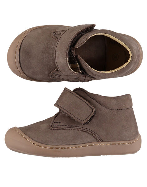 Light brown Booties GBGBOTIFLET / 19WK38I1D0F803