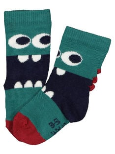 Baby boys' printed socks GYUVECHO / 19WI1021SOQ608