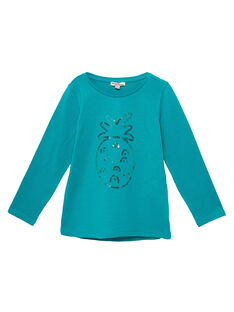 Blue Longsleeve T-SHIRT JAJOTEE4 / 20S90142D32C235