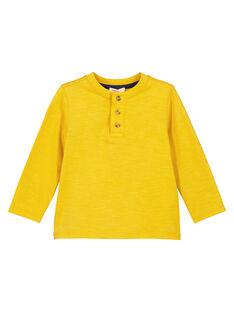 Light yellow Longsleeve T-SHIRT GOJOTUN3 / 19W90235D32B116