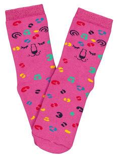 Fushia Socks GYAMUCHODER / 19WI01F3SOQ304