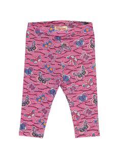 Baby girls' leggings CYIGAULEG / 18SI09L1CAL099