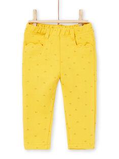 Baby girl heart print pants LIJOPAN1 / 21SG0931PAN106
