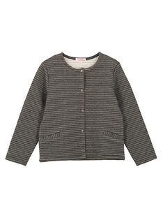 Dark grey Cardigan GAJOCARM3 / 19W90145D3C944