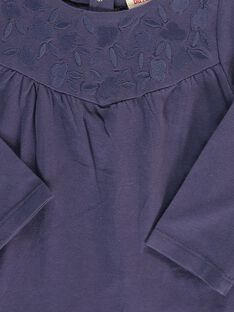 Baby girls' long-sleeved T-shirt CIJOTEE3 / 18SG09R3TML705